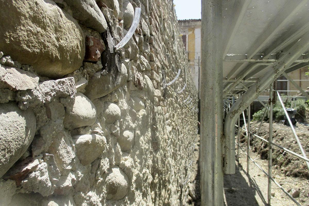 Muro di Cinta Asl